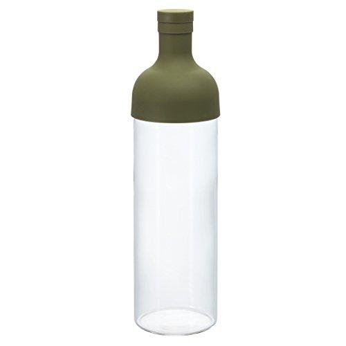 HARIO (ハリオ) フィルターインボトル 750ml オリーブグリーン ...