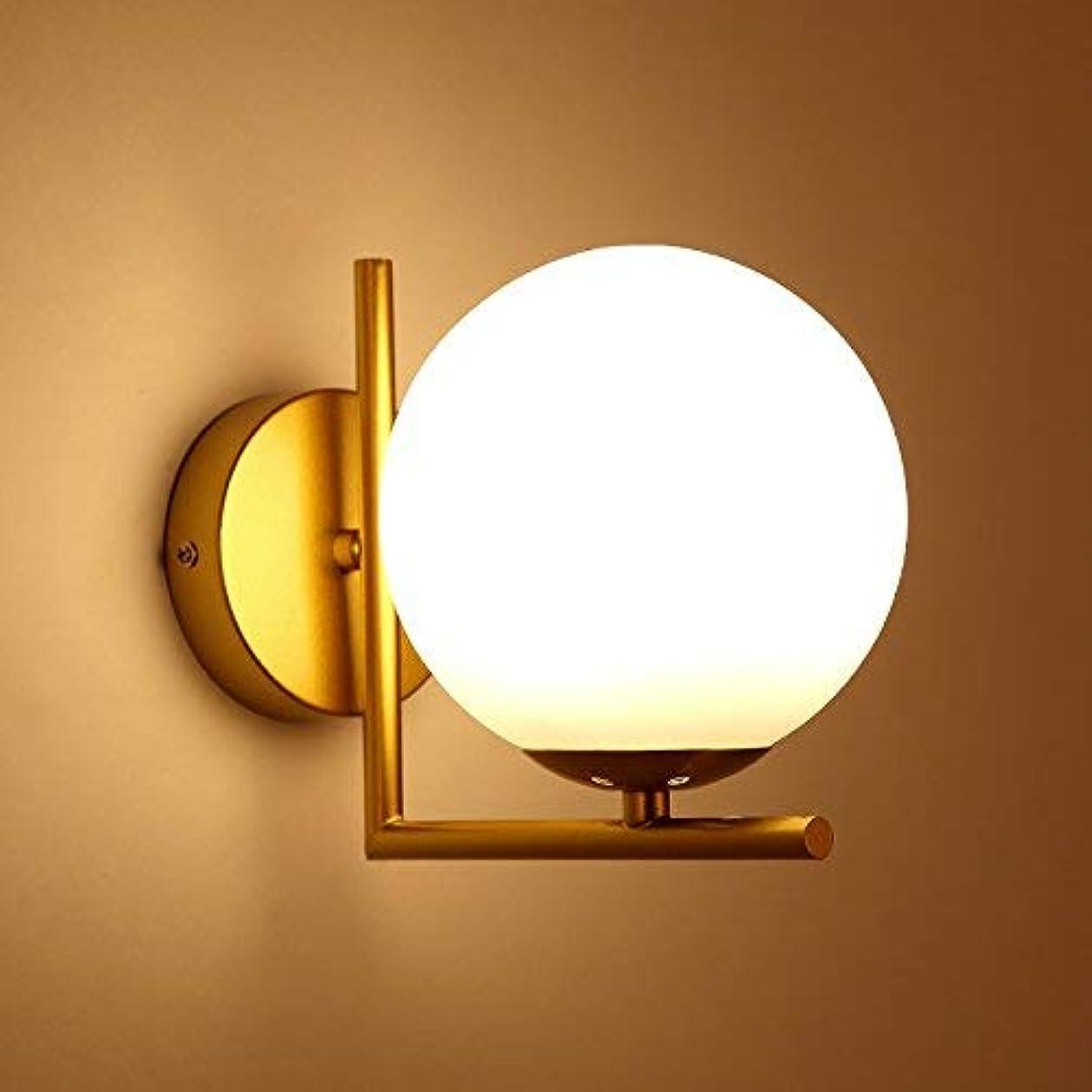 韓国語傾向があるプレーヤー壁面ライト, ウォールライト寝室用ダイニングルームロフト15センチガラスバブル壁燭台レストランリビングキッチンled avize、黒15センチ AI LI WEI