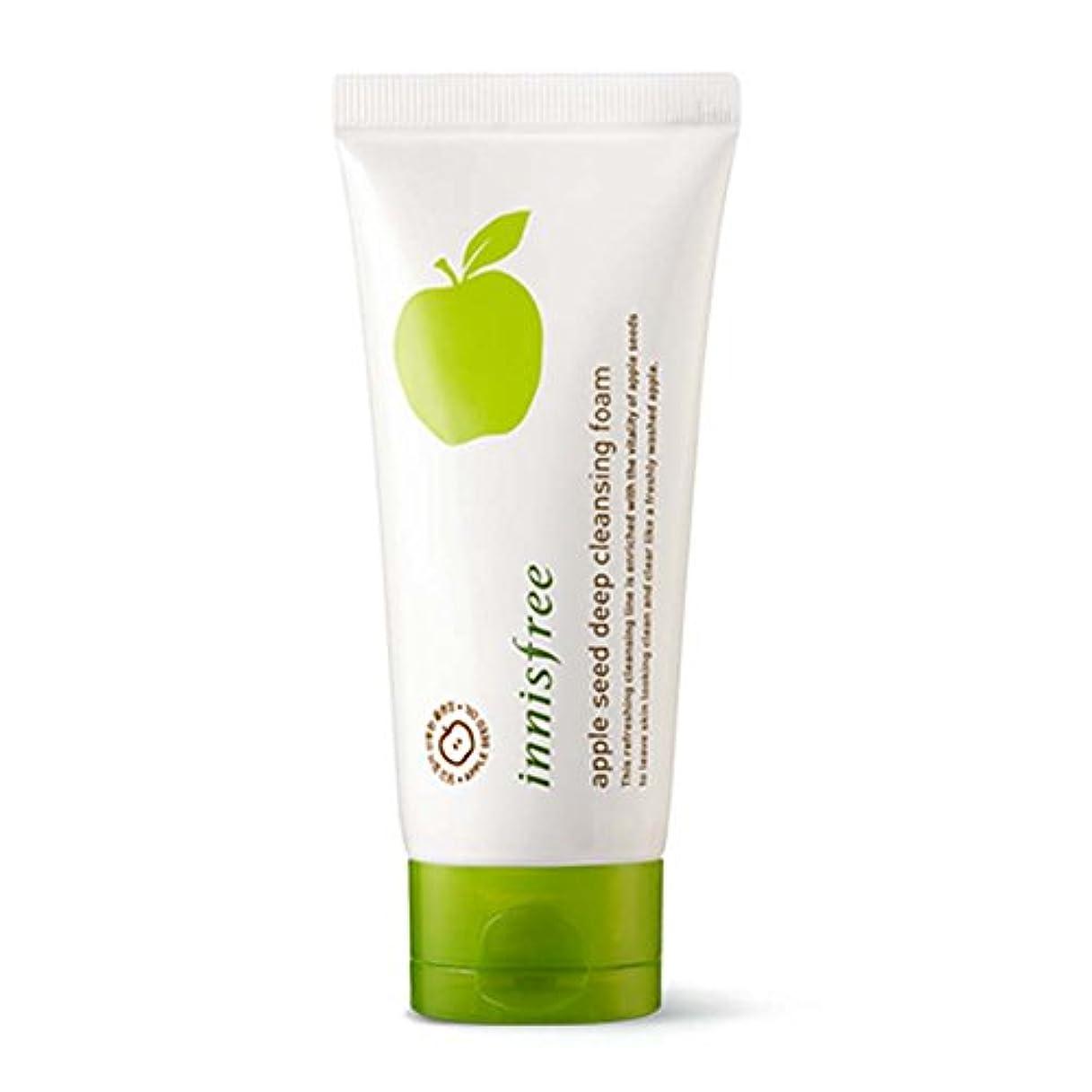 イニスフリーアップルシードディープクレンジングフォーム150ml / Innisfree Apple Seed Deep Cleansing Foam 150ml [海外直送品][並行輸入品]