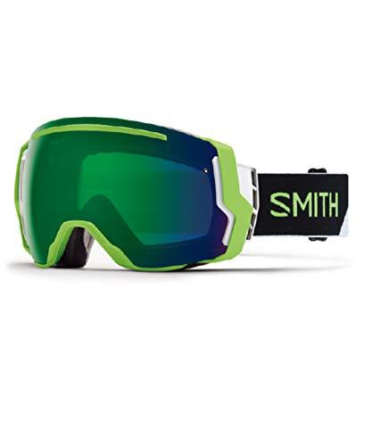 18-19 SMITH (スミス) ゴーグル I/O7 REACTOR SPLIT (SUN GREEN) アイ/オーセブン アジアンフィット ジャパンフィット スノーボード スキー