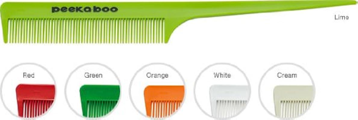 洗剤速いハードウェアPEEK-A-BOOリングコーム10 グリーン