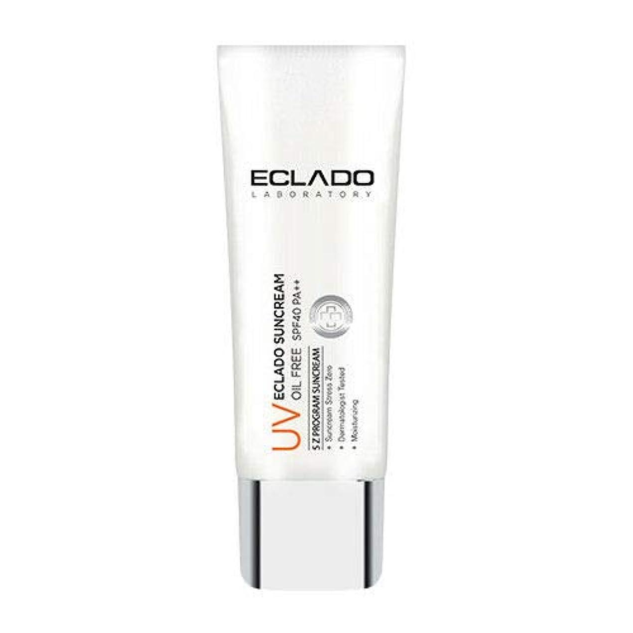 無意識アシストピークECLADO Oil Free Sun Cream (40g) SPF40 PA++ 韓国 日焼け止め