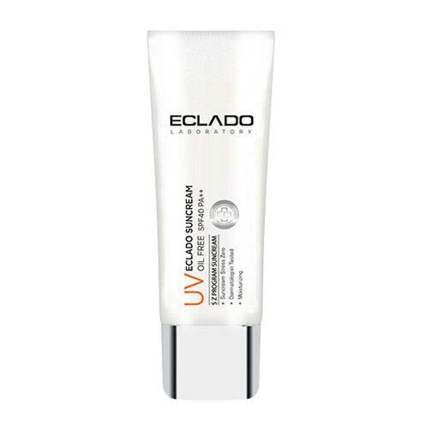 節約ステープル一回ECLADO Oil Free Sun Cream (40g) SPF40 PA++ 韓国 日焼け止め