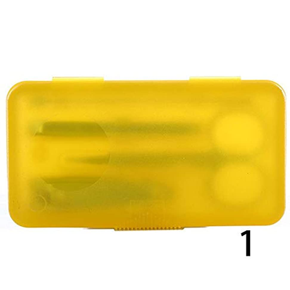 KIDQEYG 4本のステンレスマニキュアツールネイルはさみセットネイルクリッパーマニキュアスーツネイルアートマニキュアセットツール