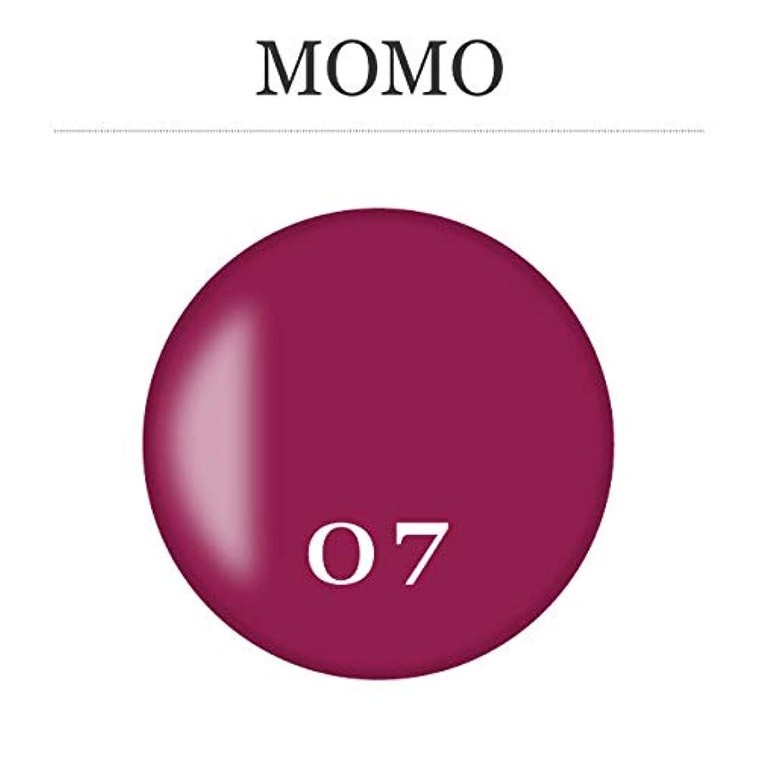 チャットラフ睡眠然としたカラージェル MOMO-07 by nail for all