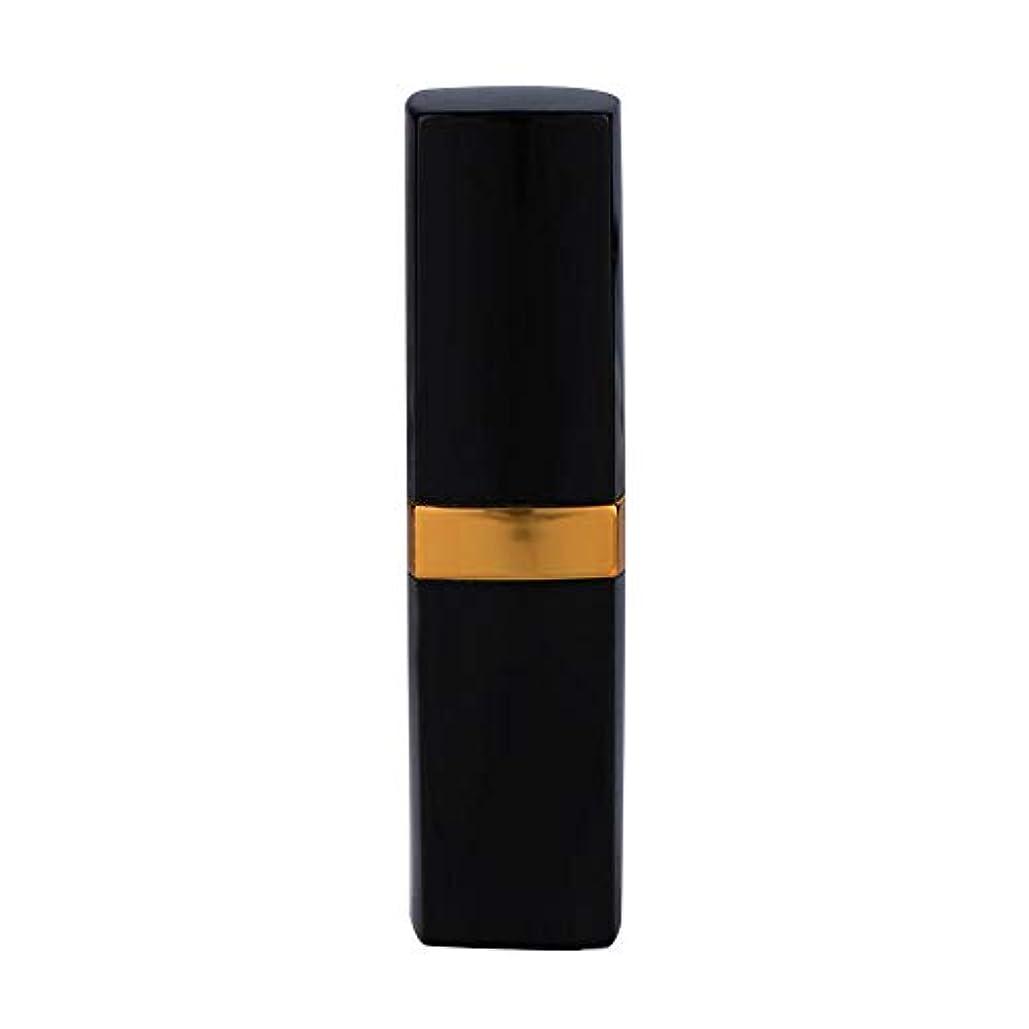 ナサニエル区葬儀乱雑な一時的な口紅の染毛剤のペン、使い捨て可能なカバー白髪の死ぬ道具(黒褐色)