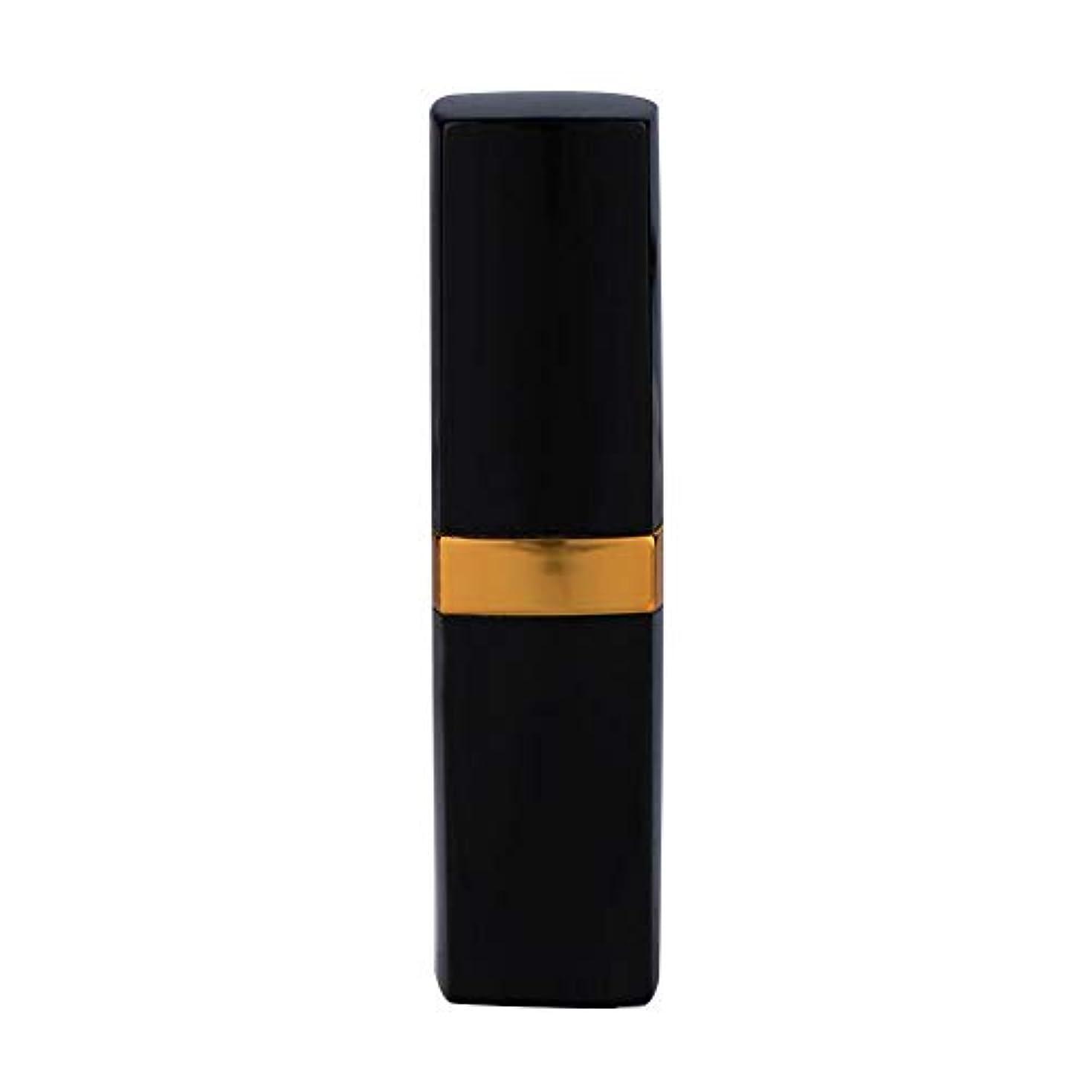 川区別矢じり一時的な口紅の染毛剤のペン、使い捨て可能なカバー白髪の死ぬ道具(黒褐色)