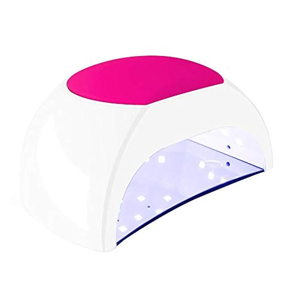 トレイル発疹コーデリア釘のドライヤー - 自動赤外線センサー、二重光源のLEDランプのゲルのドライヤーのマニキュアが付いている紫外線携帯用LEDの釘ランプ