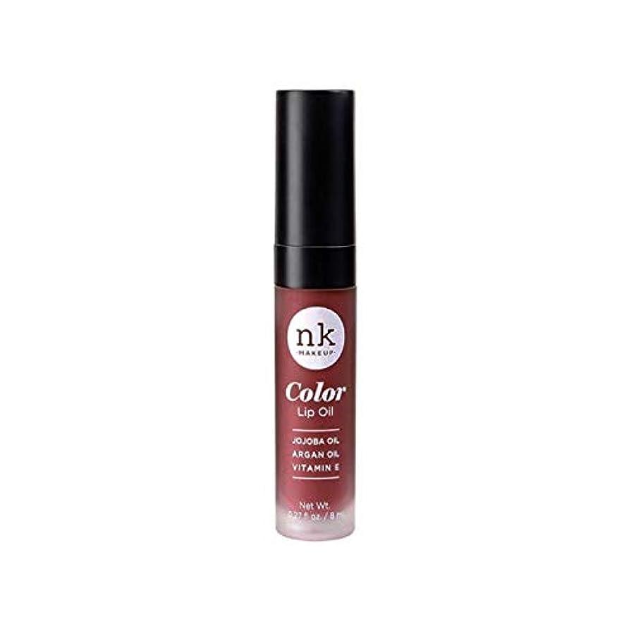 脱臼するレイ騒乱NICKA K Color Lip Oil - Mauvette (並行輸入品)