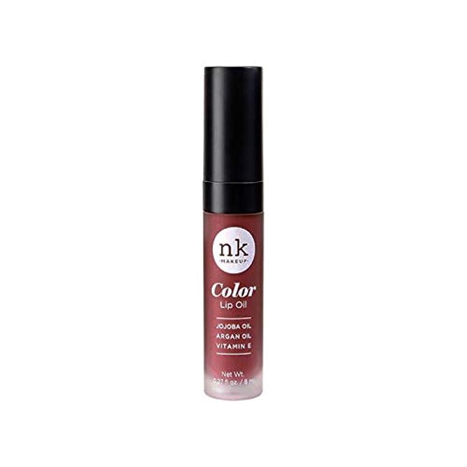 比率吹きさらし日付付きNICKA K Color Lip Oil - Mauvette (並行輸入品)