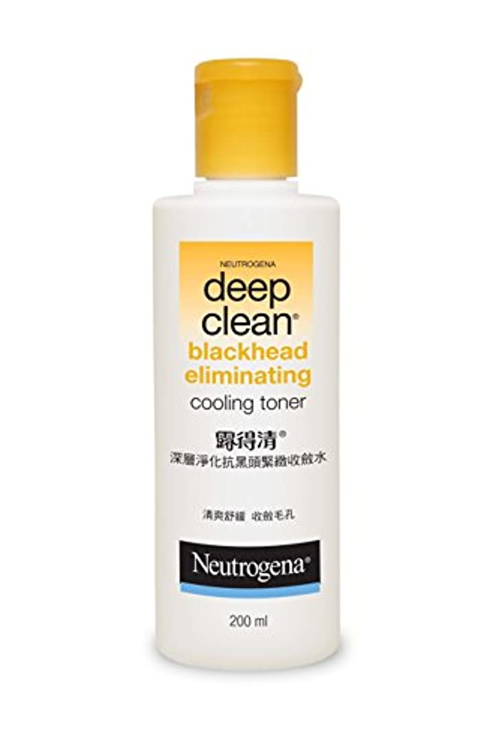 必須パール分離Neutrogena Deep Clean Blackhead Eliminating Cooling Toner, 200ml