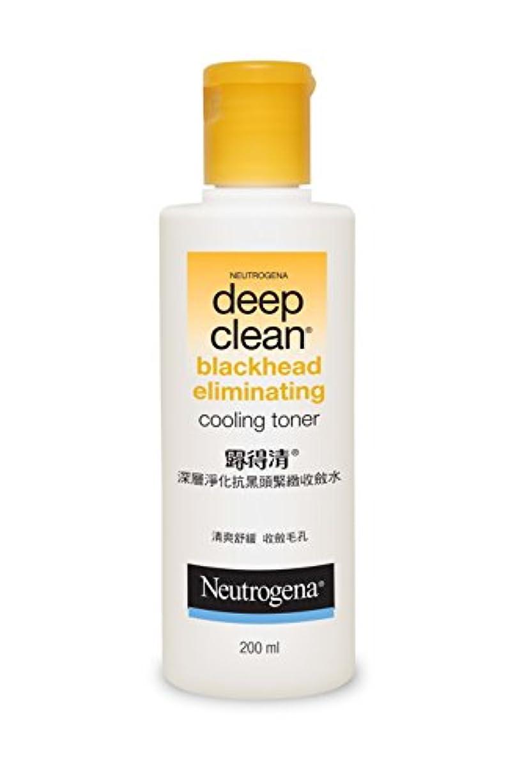 バスルーム有罪検査Neutrogena Deep Clean Blackhead Eliminating Cooling Toner, 200ml