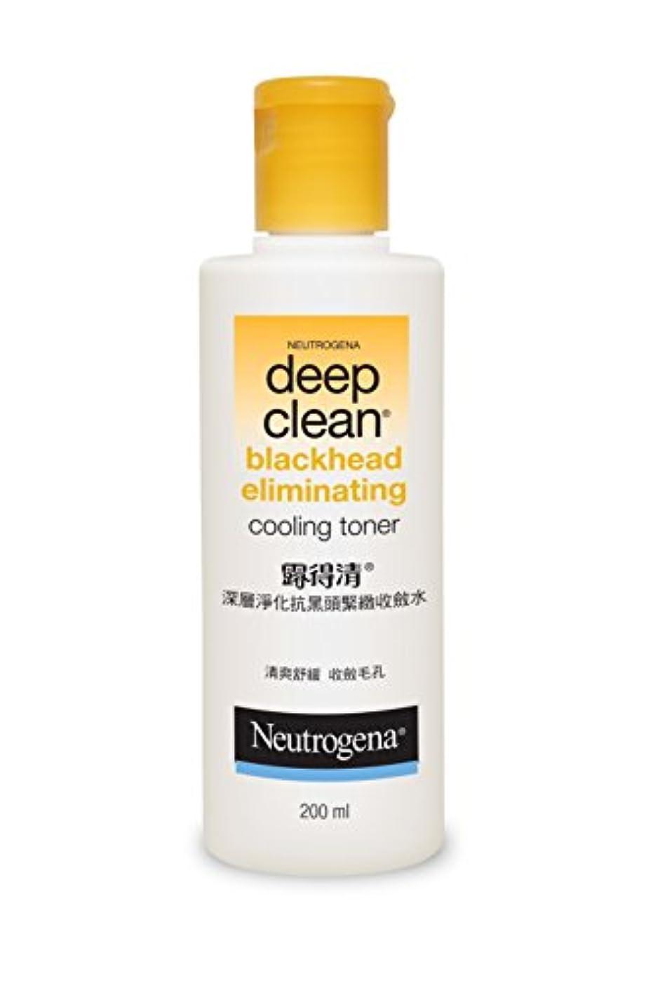 なめらか船員破壊的なNeutrogena Deep Clean Blackhead Eliminating Cooling Toner, 200ml
