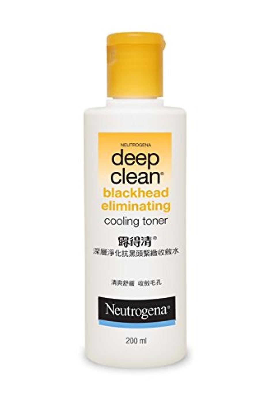 知る屈辱するサルベージNeutrogena Deep Clean Blackhead Eliminating Cooling Toner, 200ml
