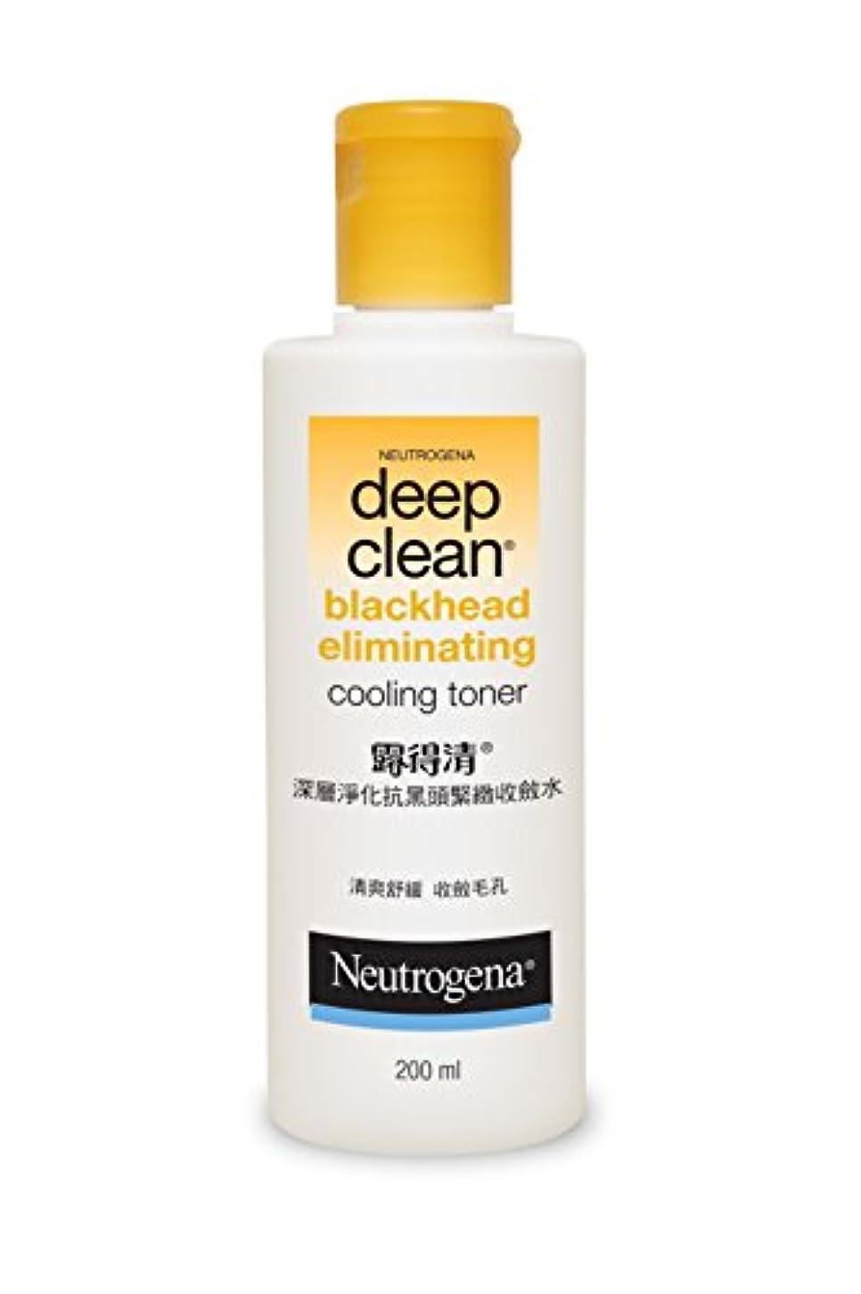 賞淡い置換Neutrogena Deep Clean Blackhead Eliminating Cooling Toner, 200ml