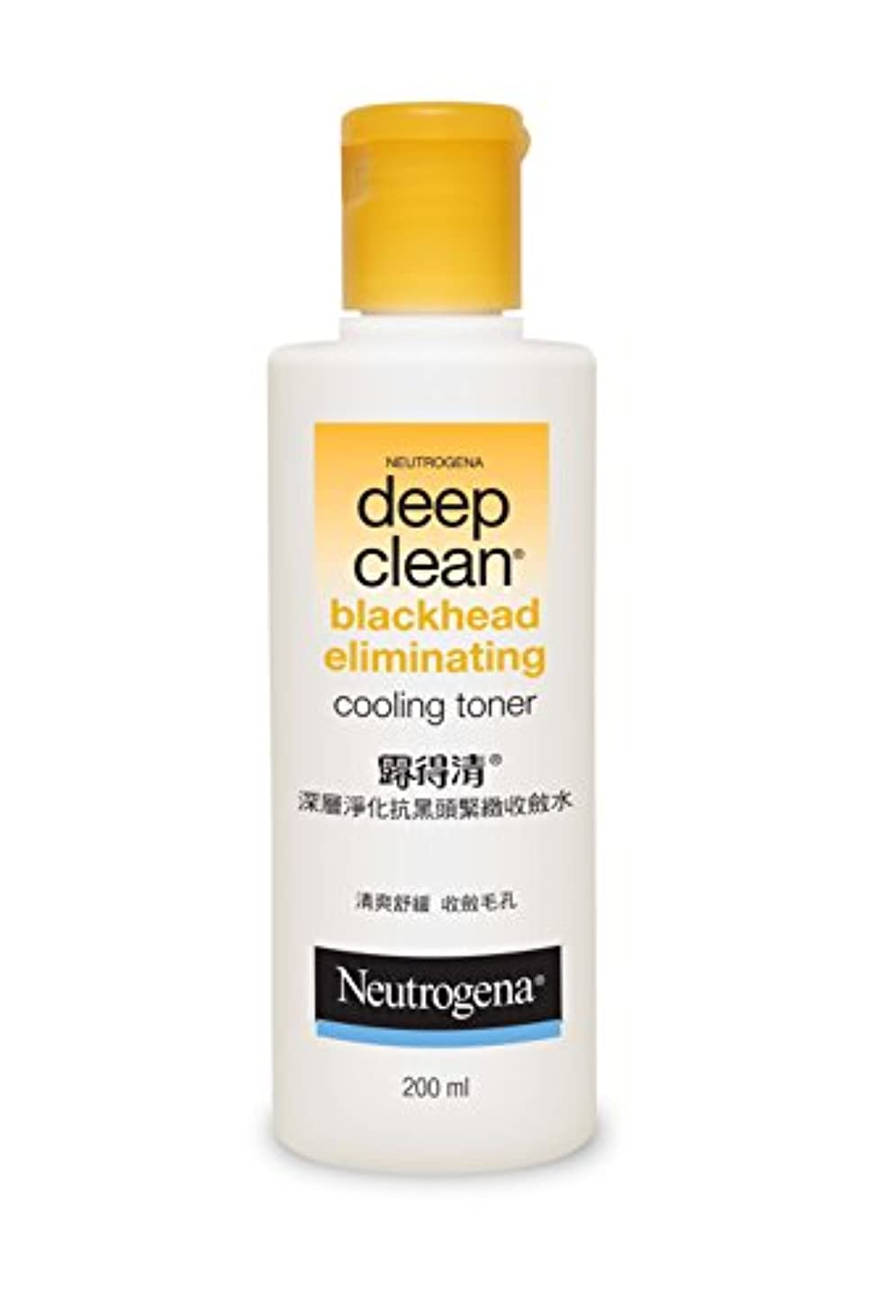 訴える乙女重さNeutrogena Deep Clean Blackhead Eliminating Cooling Toner, 200ml