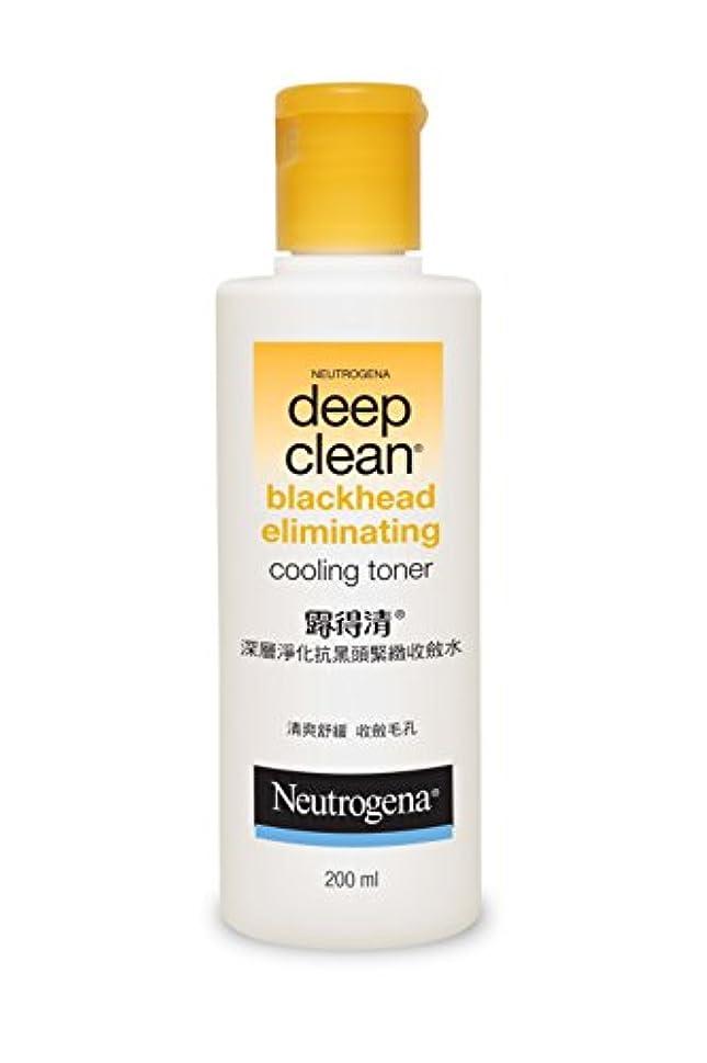 心のこもった高める雄弁Neutrogena Deep Clean Blackhead Eliminating Cooling Toner, 200ml