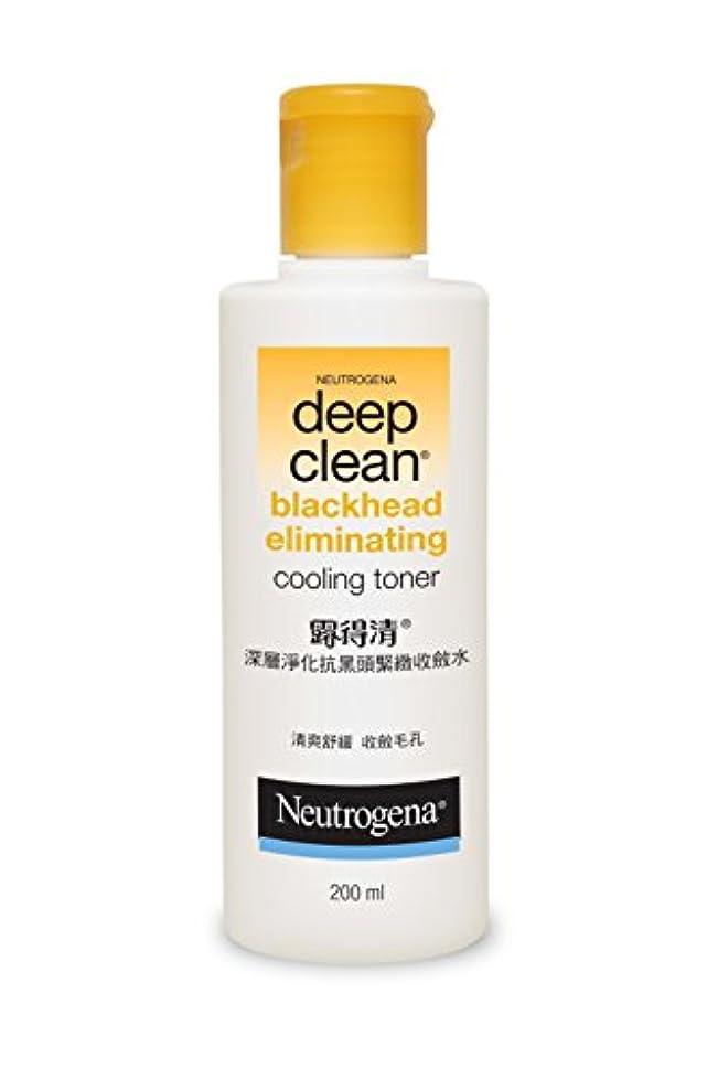 コーナーカード練るNeutrogena Deep Clean Blackhead Eliminating Cooling Toner, 200ml