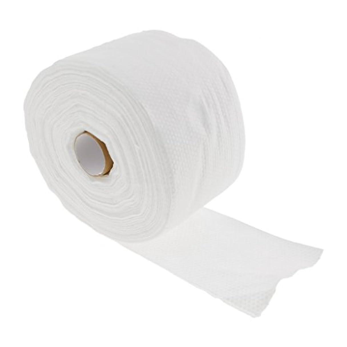 赤ちゃん幾何学無駄だToygogo 1つのロール30メートルの使い捨て可能なタオル繊維の清潔になる顔のワイプの構造の除去剤 - #2
