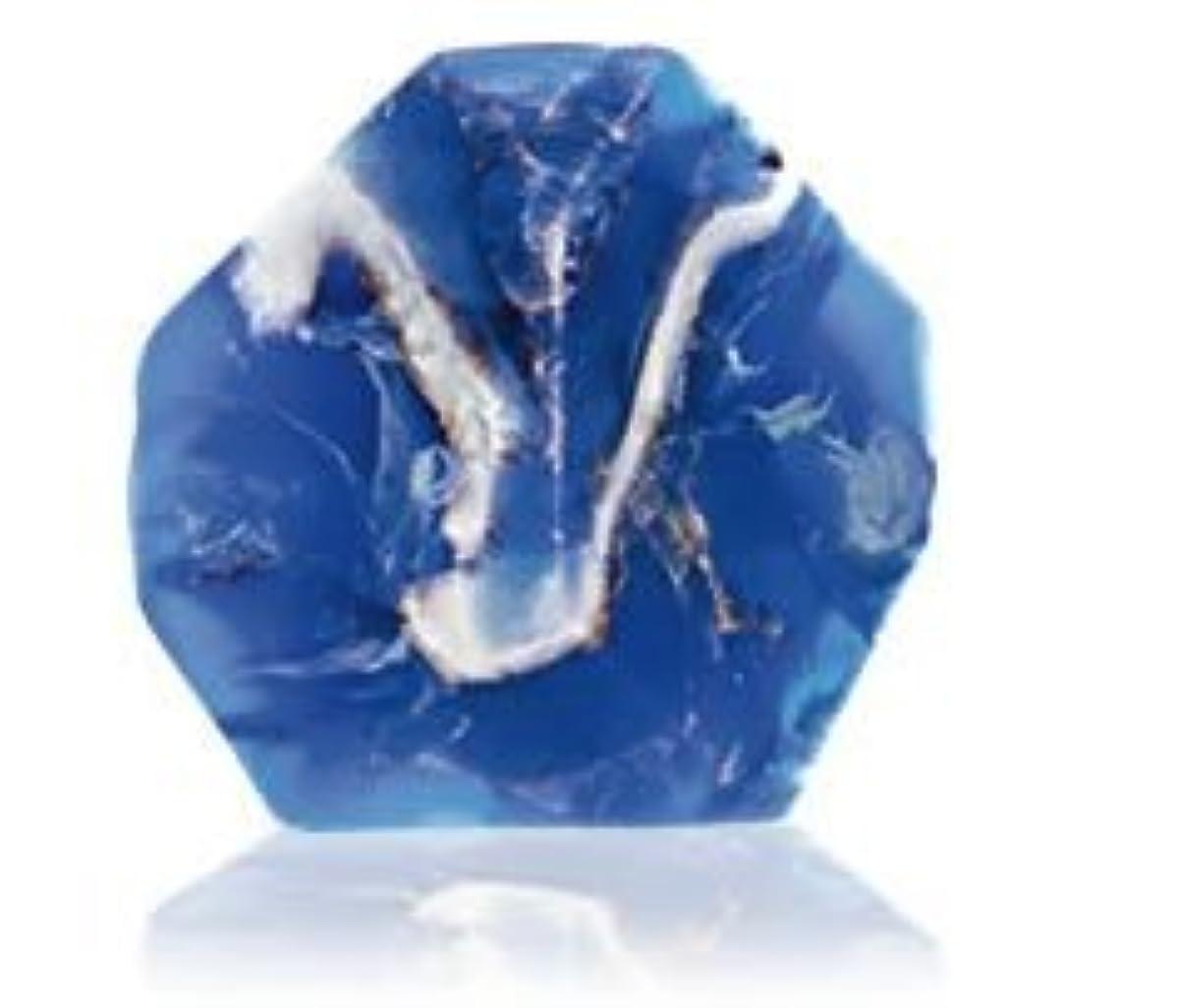 過敏なジャグリングフリンジSavons Gemme サボンジェム 世界で一番美しい宝石石鹸 フレグランスソープ ラピスラズリ 170g