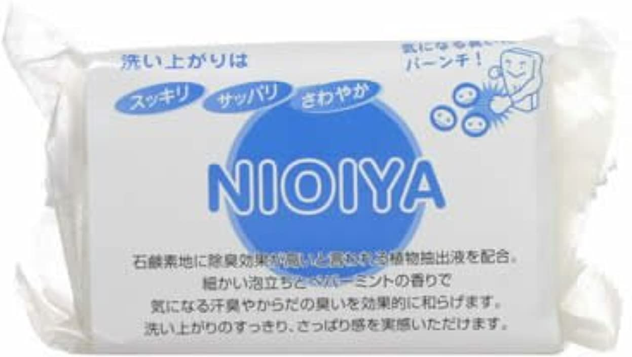 NIOIYA石鹸(体臭?加齢ケアソープ)