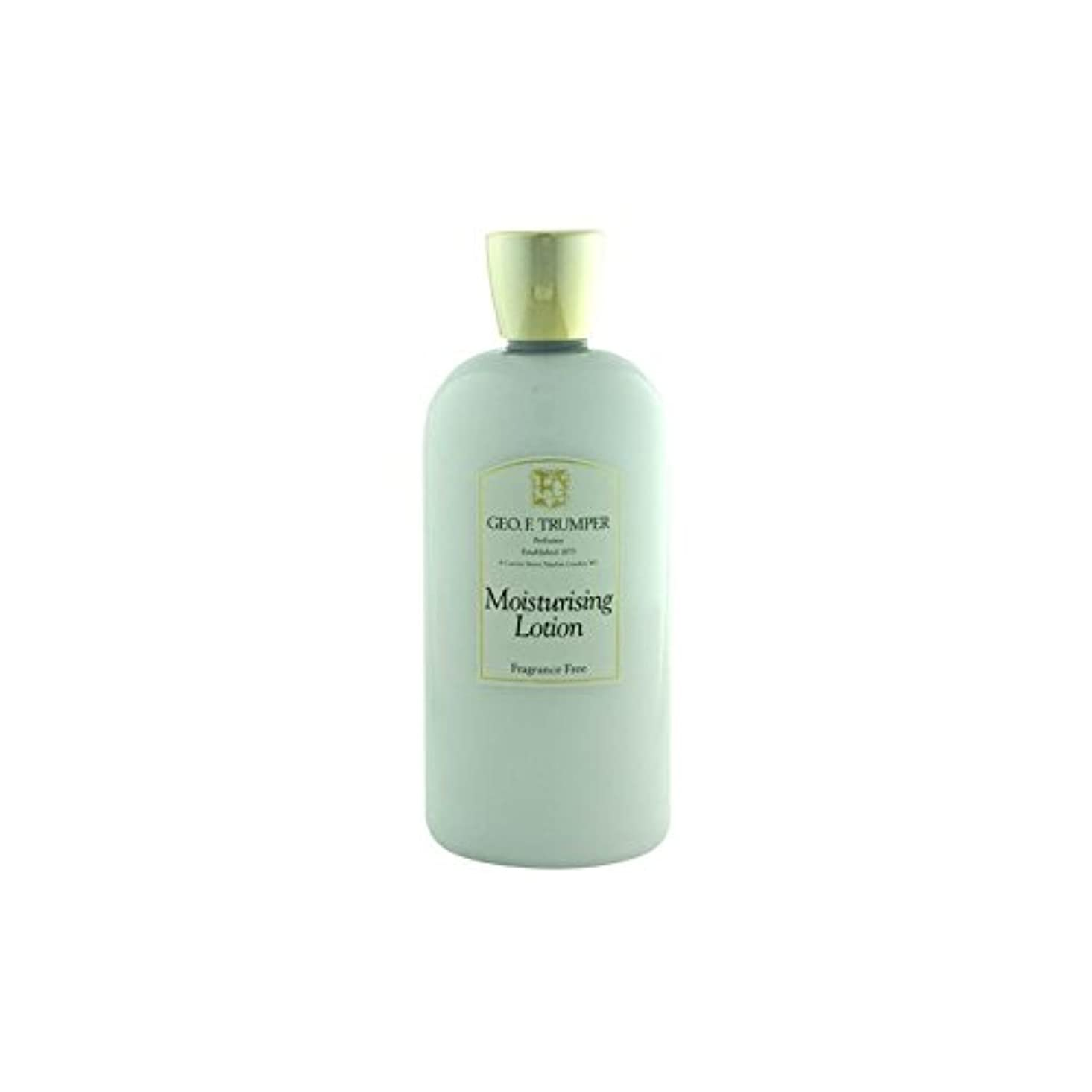 バター一人で痛い無香料の保湿剤を - 500ミリリットル旅 x2 - Trumpers Fragrance Free Moisturiser - 500ml Travel (Pack of 2) [並行輸入品]