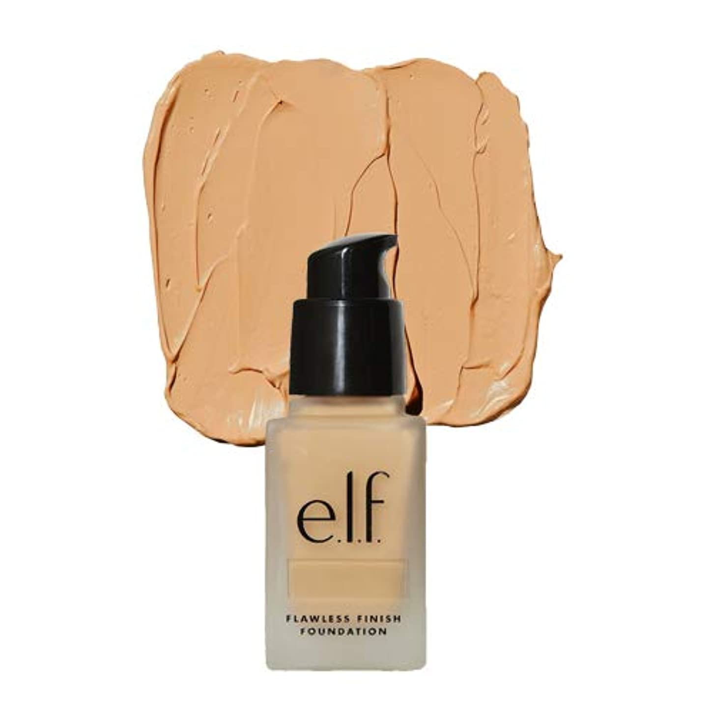拡声器路面電車永遠の(6 Pack) e.l.f. Oil Free Flawless Finish Foundation - Buff (並行輸入品)