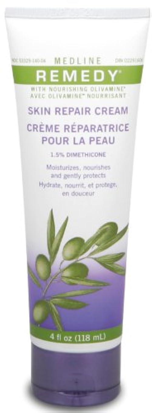 布カビ神秘的なMedline Remedy with Olivamine Skin Repair Cream 4oz 118ml