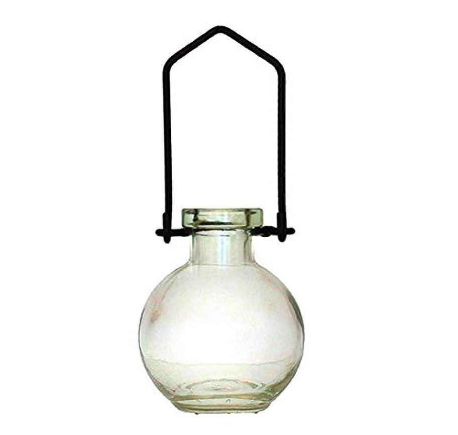 保守的食器棚タワー装飾用吊り下げ花瓶 小型のガラスボトル 寮の飾り カラフルなお香立て 壁掛け装飾 ロマンチックな装飾 クリア G268VF