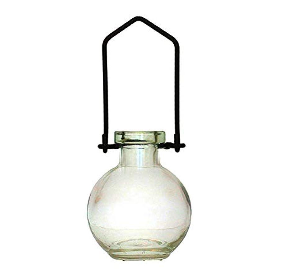 組多様体出口装飾用吊り下げ花瓶 小型のガラスボトル 寮の飾り カラフルなお香立て 壁掛け装飾 ロマンチックな装飾 クリア G268VF