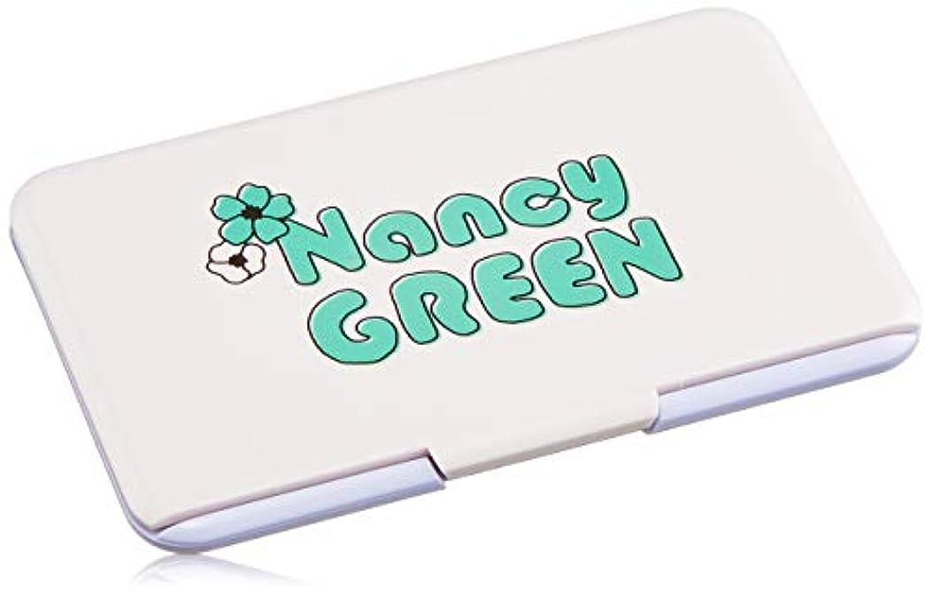 手紙を書く半径支払うS ヘアチョークパレット ナンシーグリーン 5g
