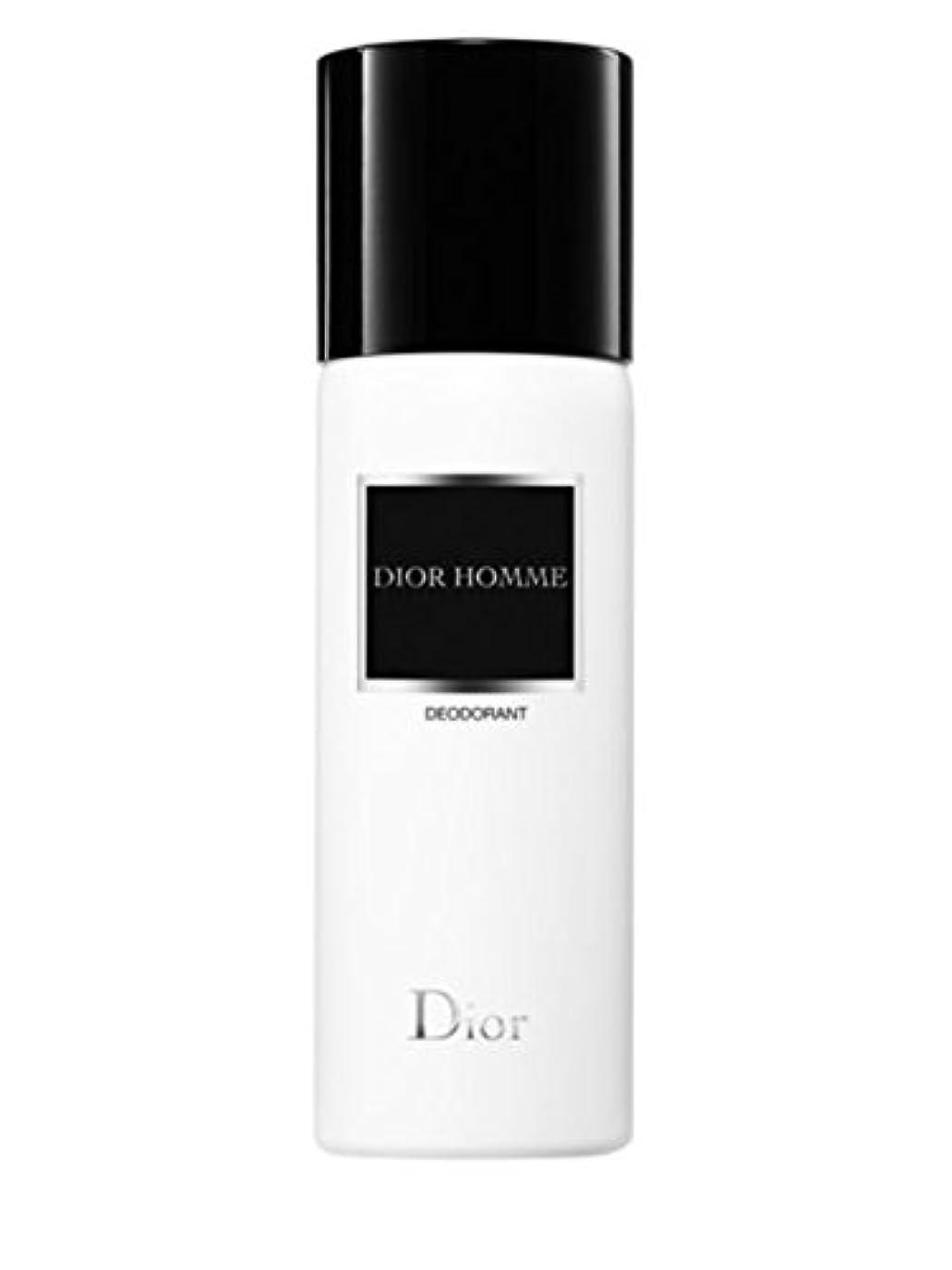 に対して詩人オープナーDior Homme (ディオール オム) 5.0 oz (150ml) Deodorant (デオドラント) Spray by Christian Dior
