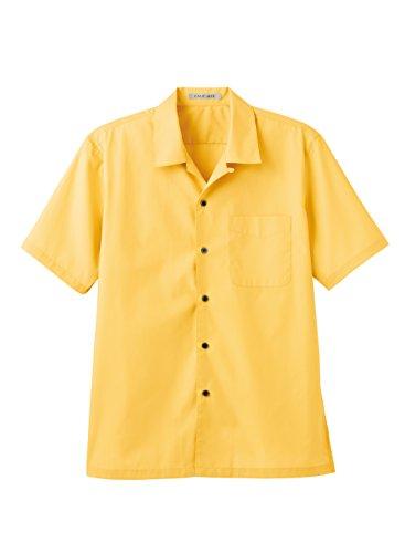(フェイスミックス)FACEMIXブロードオープンカラー半袖シャツFB4529U10イエロー3L