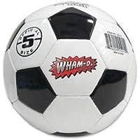 wham-o公式サイズ5 Soccerball、ブラック/ホワイト