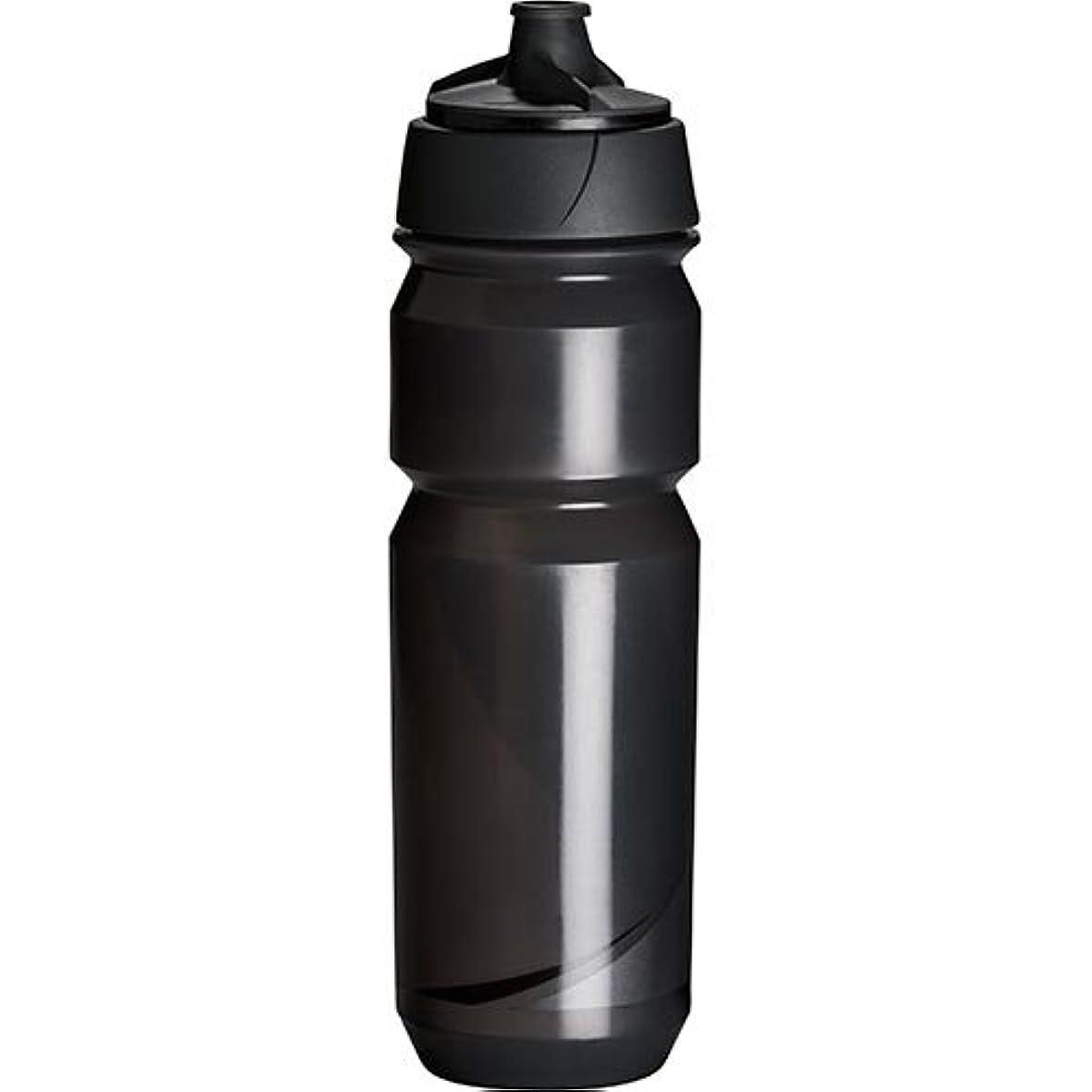 反発する名目上の宣伝Tacx(タックス) Shanti Twist SMOKE/BLK 750 ボトル スモーク/ブラック サイクルボトル