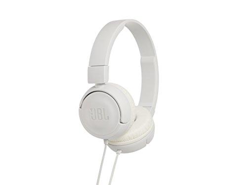 JBL  マイク/コントロール付 ヘッドホン ホワイト  JBLT450WHT