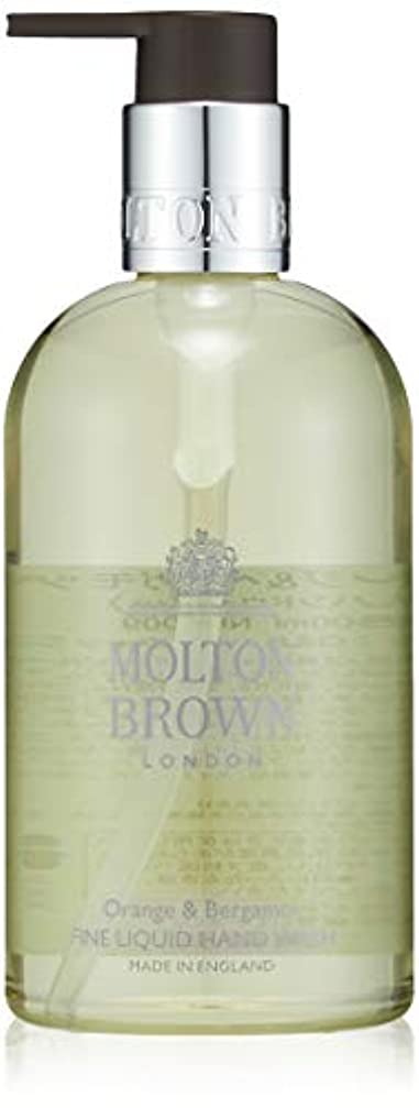 バウンド反対に迅速MOLTON BROWN(モルトンブラウン) オレンジ&ベルガモット コレクション O&B ハンドウォッシュ
