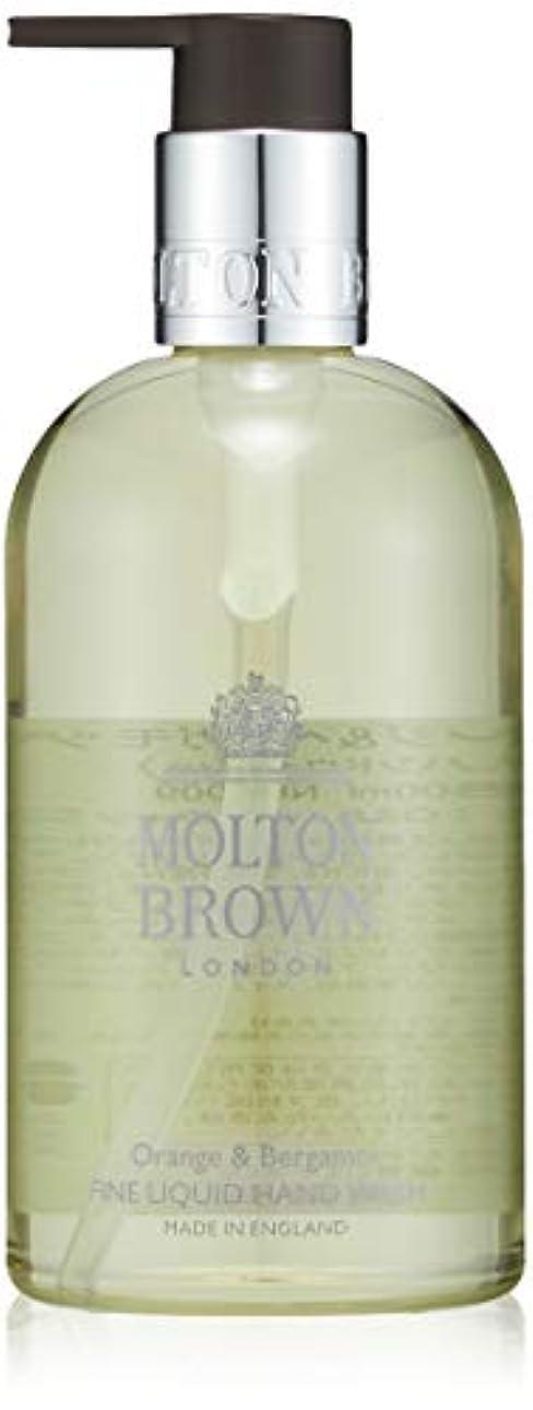 認識注目すべき応じるMOLTON BROWN(モルトンブラウン) オレンジ&ベルガモット コレクション O&B ハンドウォッシュ