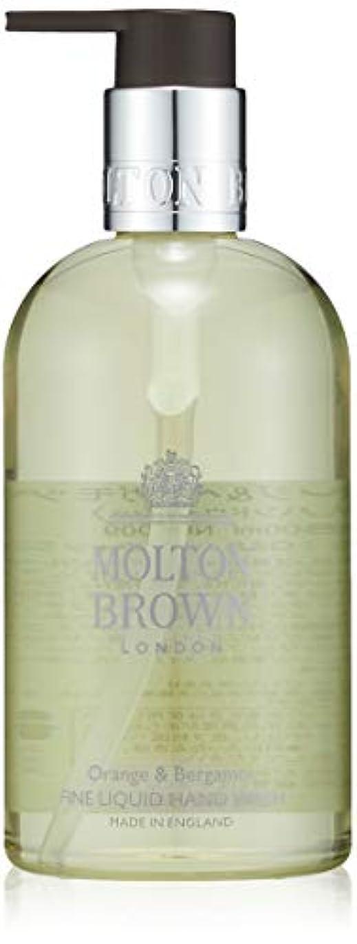 一定入手しますイタリックMOLTON BROWN(モルトンブラウン) オレンジ&ベルガモット コレクション O&B ハンドウォッシュ