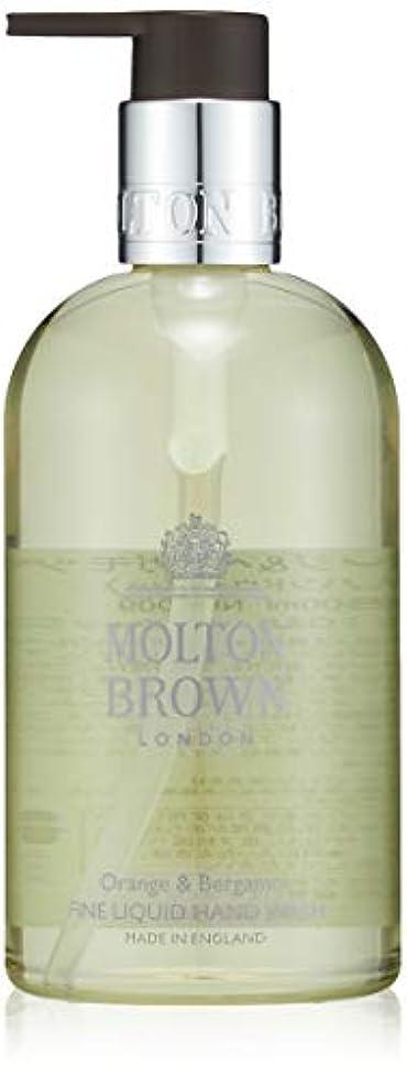 無謀スラム世界記録のギネスブックMOLTON BROWN(モルトンブラウン) オレンジ&ベルガモット コレクション O&B ハンドウォッシュ