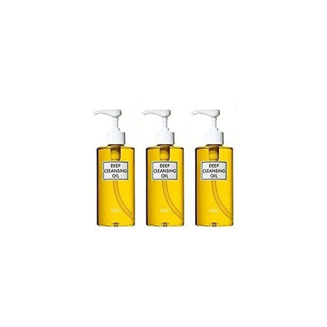 電化する地区興奮するDHC薬用ディープクレンジングオイル(L)3本セット