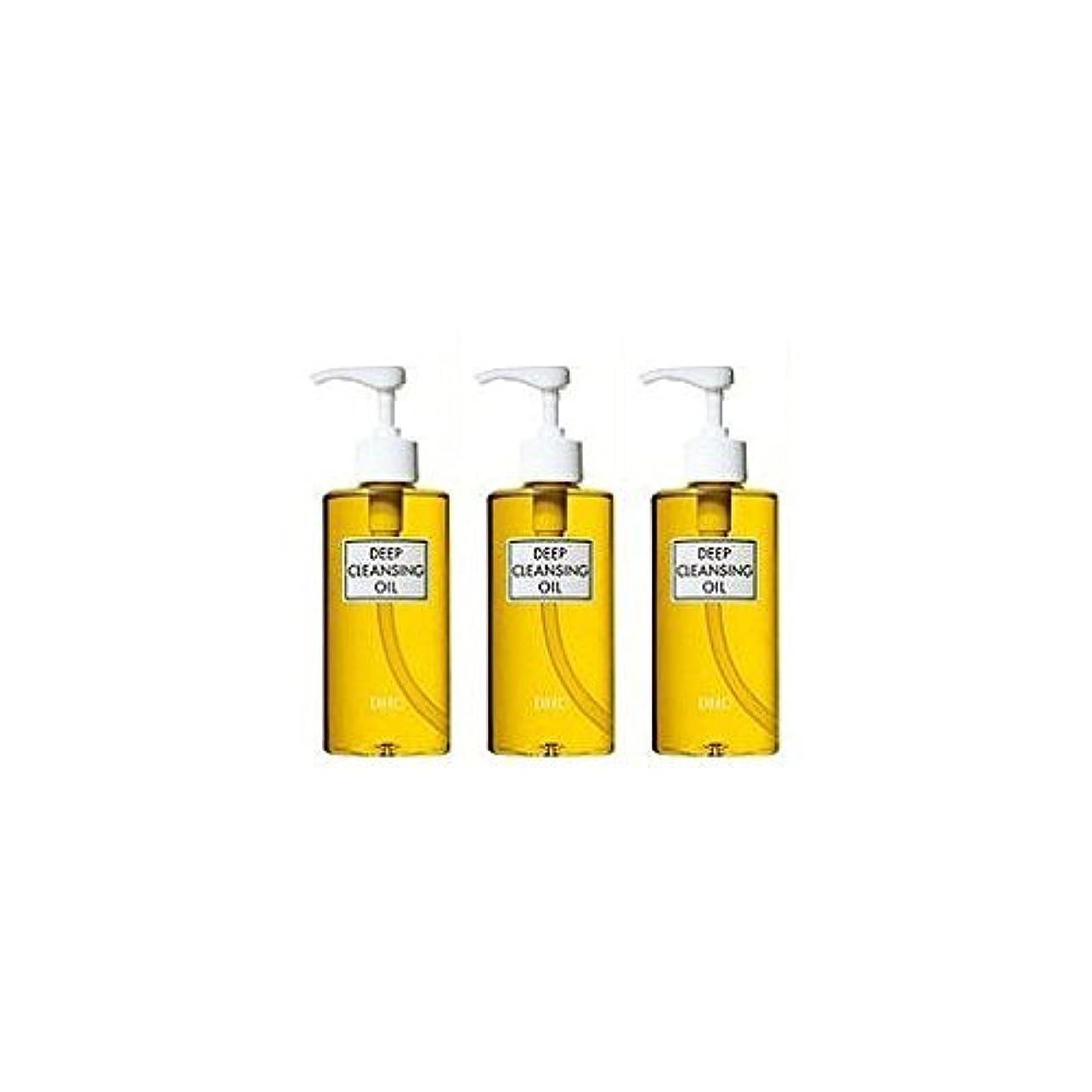 冊子鹿山岳DHC薬用ディープクレンジングオイル(L)3本セット