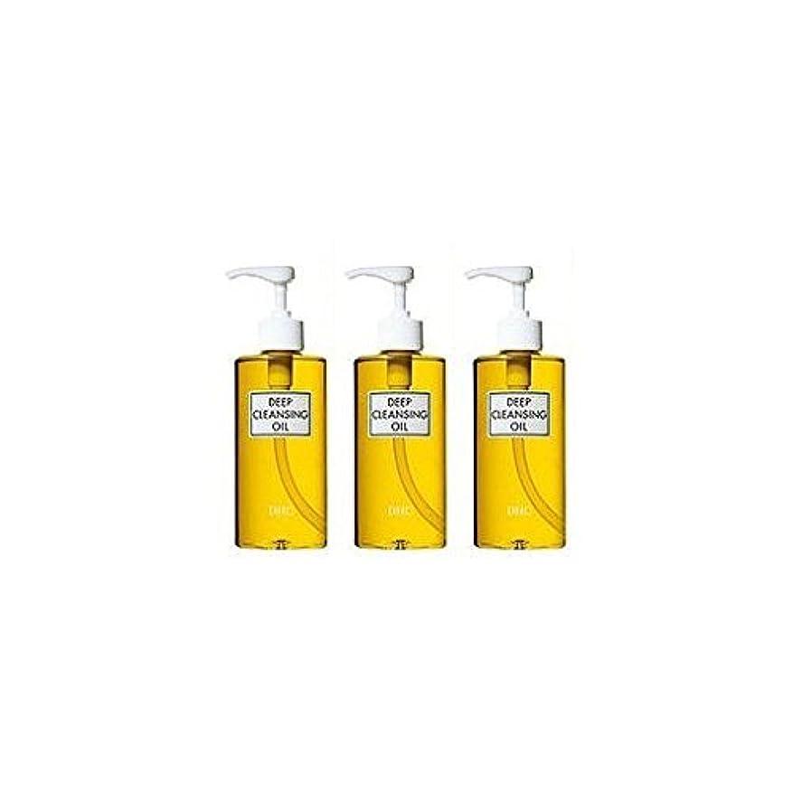 リサイクルする居眠りする凍ったDHC薬用ディープクレンジングオイル(L)3本セット