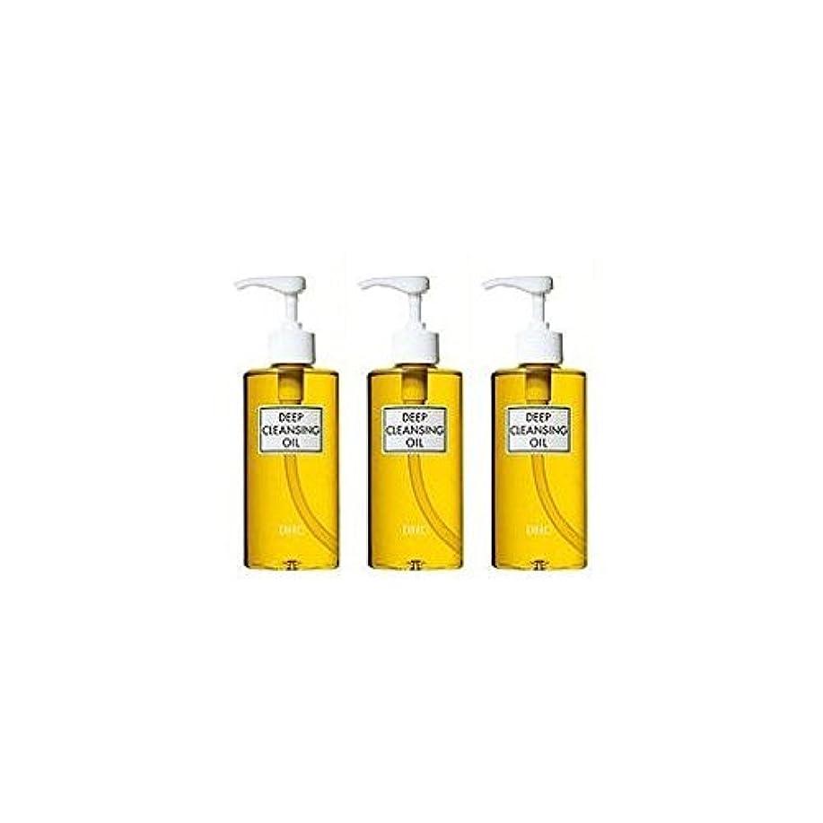 軽食忠実な訴えるDHC薬用ディープクレンジングオイル(L)3本セット