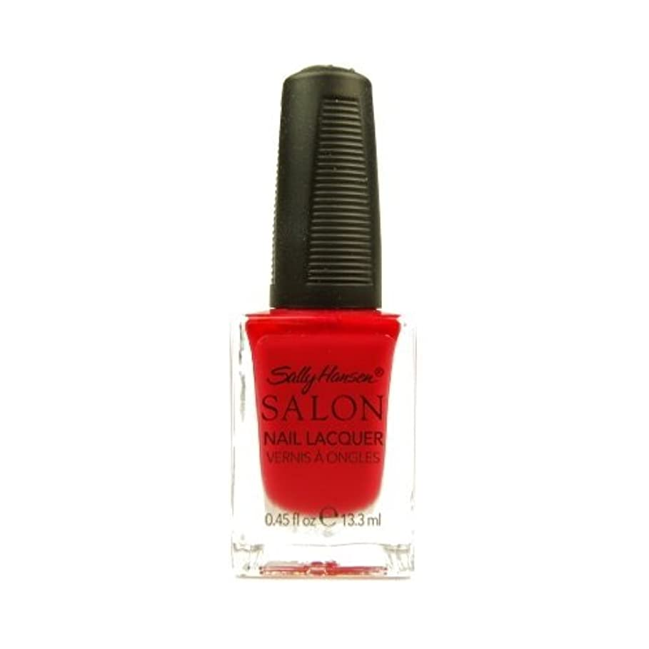 限られたソビエト崖SALLY HANSEN SALON NAIL LACQUER #4120-85 CHERRY NICE