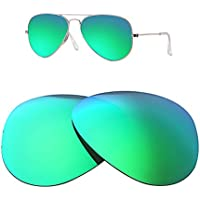 HEYDEFOAU Polarized Lenses for Ray-Ban Aviator RB3025 (62MM) Sunglasses
