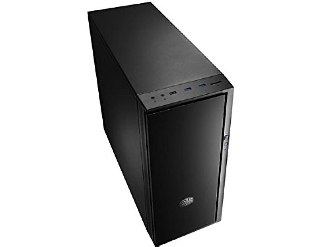 戸口会議政治的CoolerMaster ミドルタワーATX対応PCケース Silencio 452 (型番:SIL-452-KKN1-JP)
