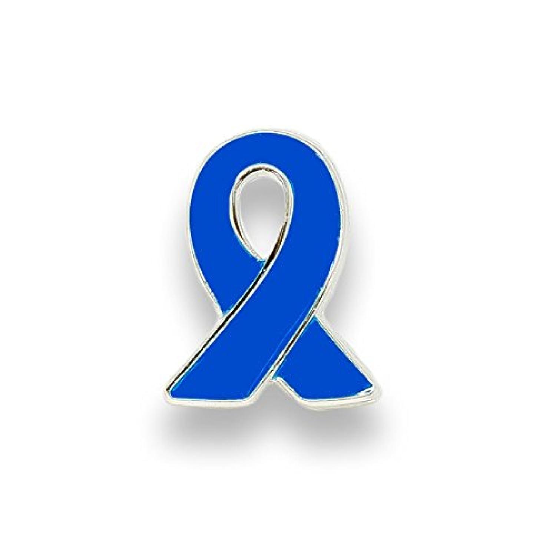 ブルーリボン ピンバッジ 小 自閉症デー 拉致 日本代表 侍ブルー バッチ バッヂ