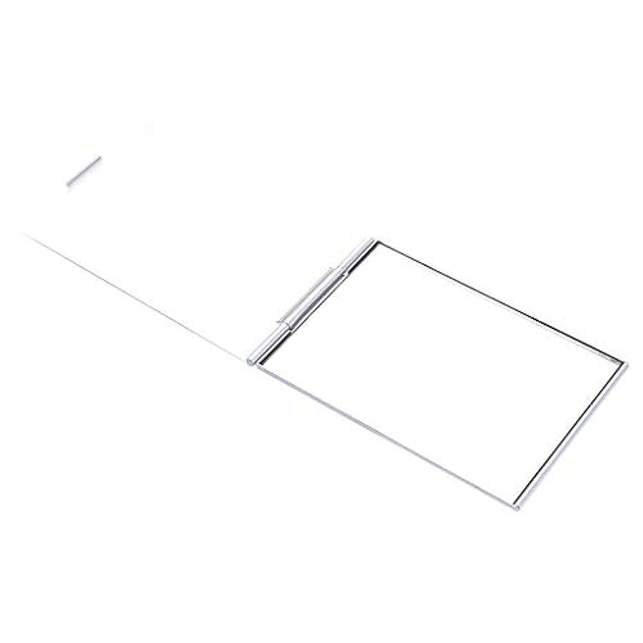 見落とす振り子彫刻化粧鏡 メイクアップミラー ポケットミラー スクエア メイクアップ 化粧 全2サイズ - 4