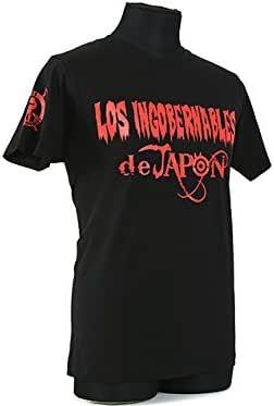 ロス・インゴベルナブレス・デ・ハポン Tシャツ(ブラックxレッド) L